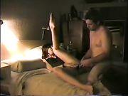 Een goede anale seks in bed